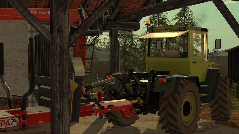 Forestry equipment with Dynamic Hoses V 1 FS17 - Mod download