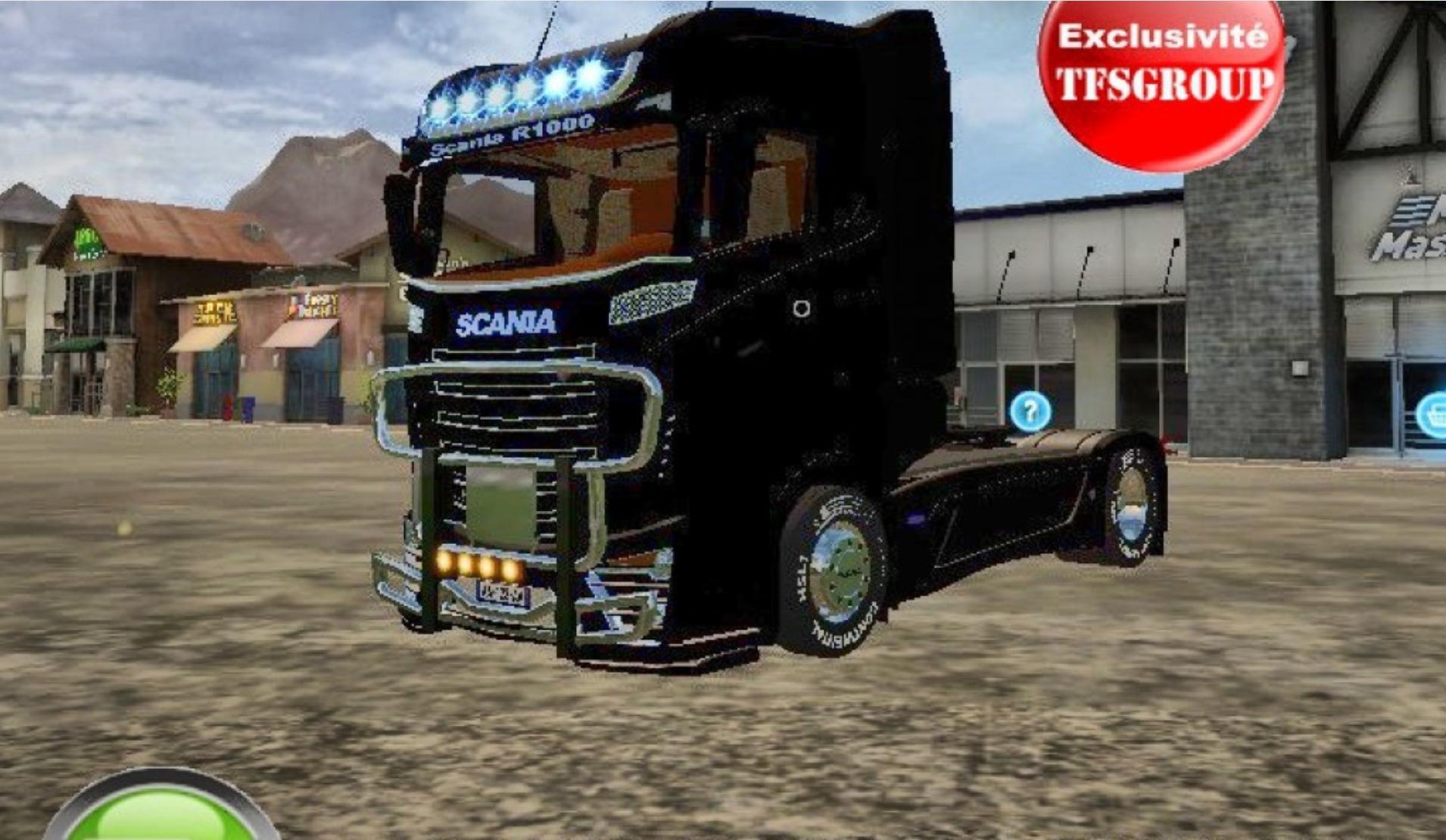 Scania R1000 BLACK MOD - Mod download