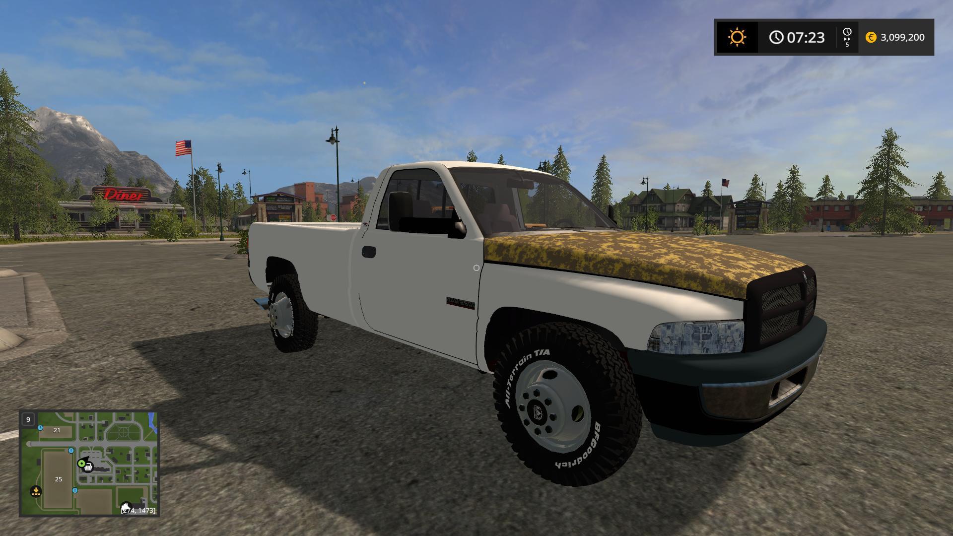 1994 Dodge Ram 2500 Second Gen Cummins V1 0 Fs17 Mod Download