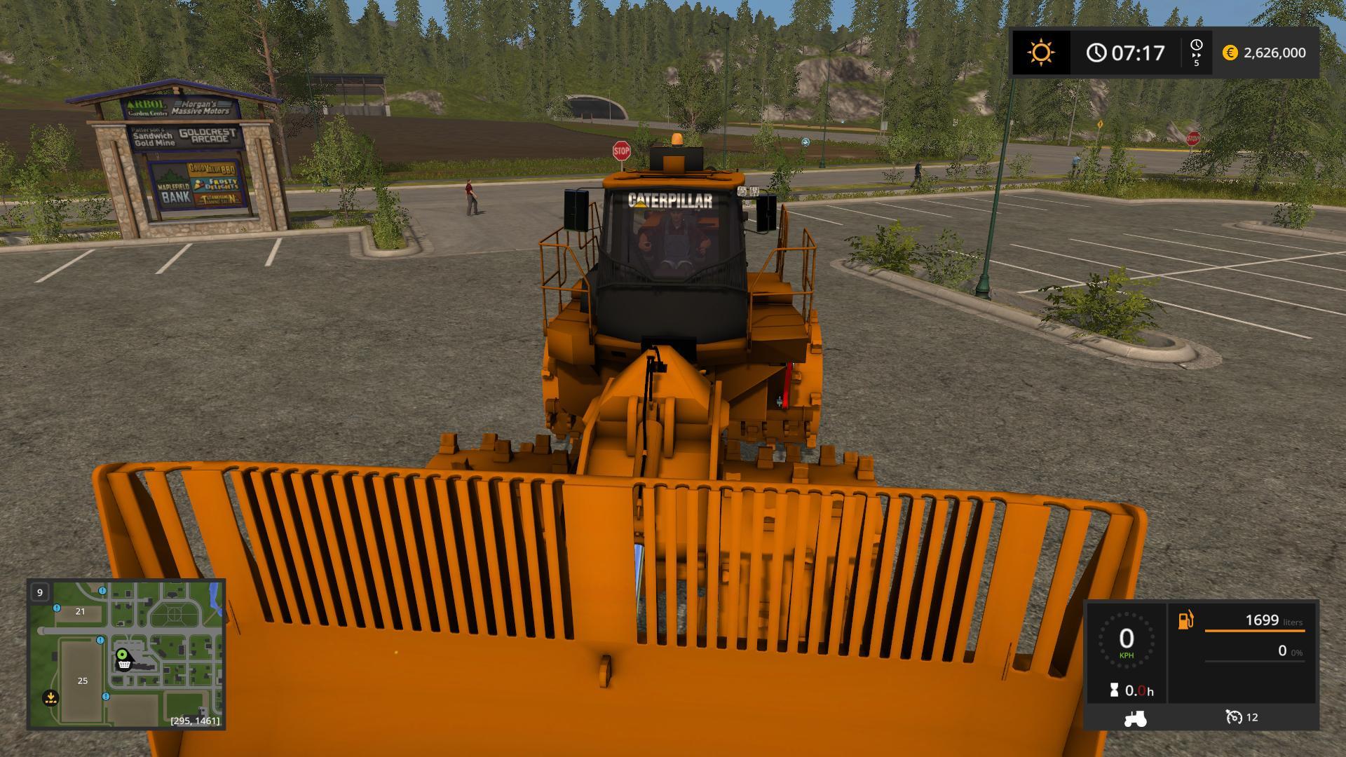 CATERPILLAR 836K V1 0 0 FS17 - Mod download