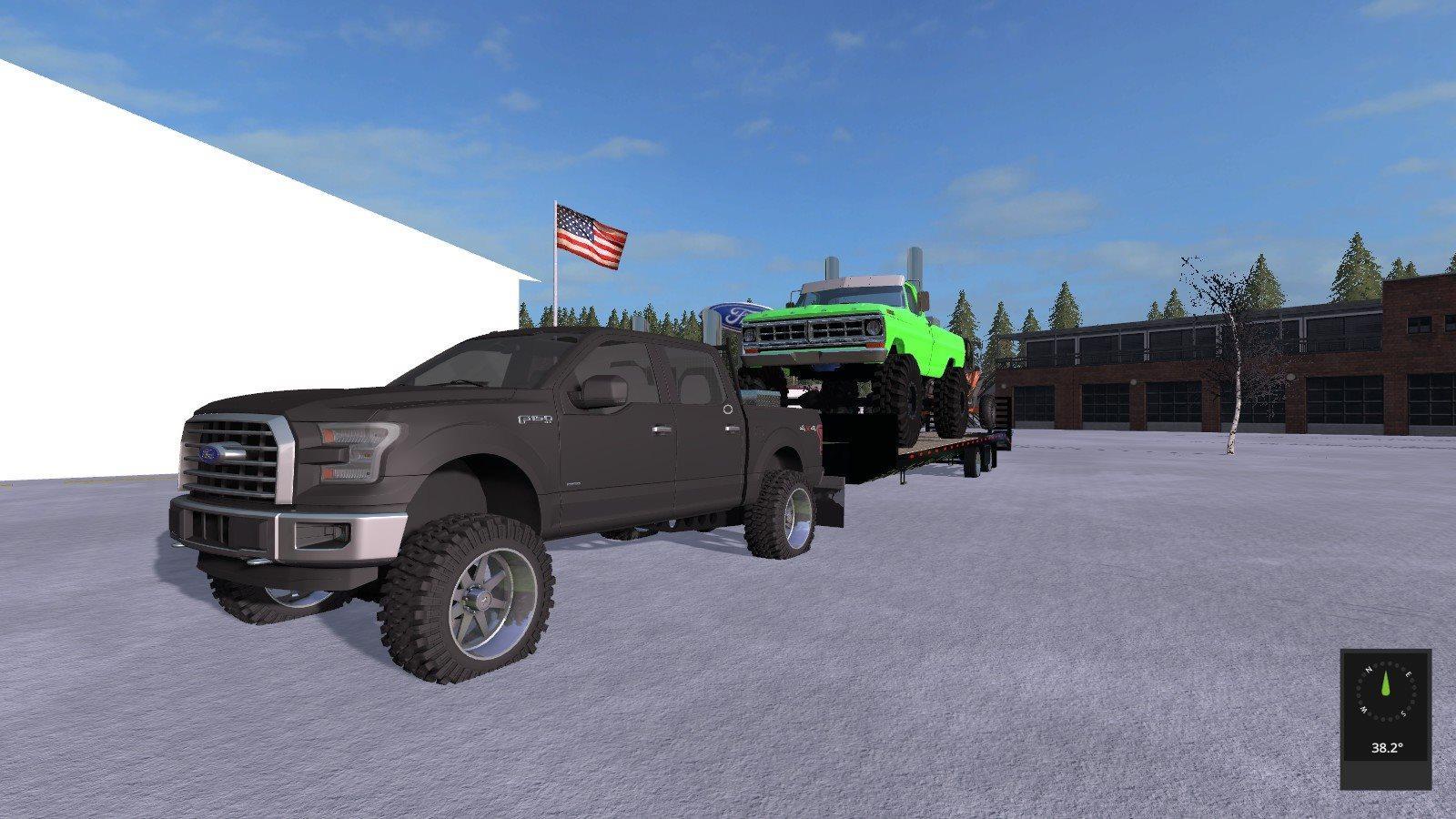 Lifted Ford trucks pack UNZIP v1.0 FS17 - Farming ...