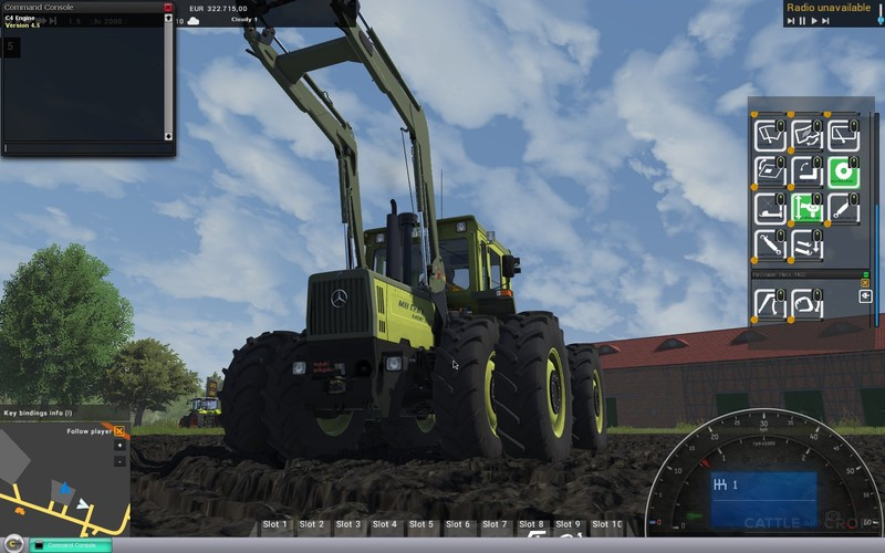 MB trac 1400 Tractor V 1 5 - Mod download